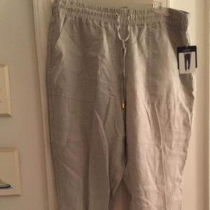 Cotton linen jogger - casual elegance!